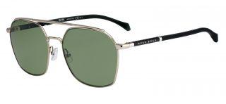 Óculos de sol Hugo Boss BOSS1131/S Dourados Quadrada
