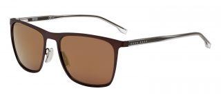 Óculos de sol Hugo Boss BOSS1149/S Castanho Retangular