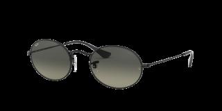 Óculos de sol Ray Ban 0RB3547N OVAL Preto Ovalada