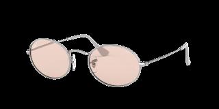 Óculos de sol Ray Ban 0RB3547 OVAL Prateados Ovalada