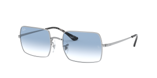 Óculos de sol Ray Ban 0RB1969 Prateados Retangular