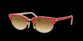 Óculos de sol Ray Ban 0RB3946 CLUBMASTER OVAL Vermelho Ovalada