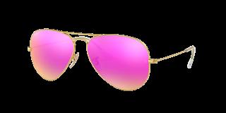 Óculos de sol Ray Ban 0RB3025 AVIATOR LARGE METAL Preto Aviador