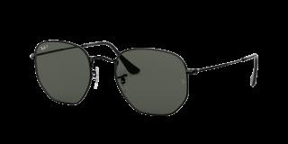Óculos de sol Ray Ban 0RB3548N HEXAGONAL Preto Quadrada
