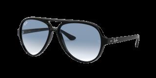 Óculos de sol Ray Ban 0RB4125 CATS 5000 Preto Aviador