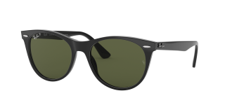 Óculos de sol Ray Ban 0RB2185 WAYFARER II Preto Redonda