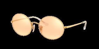 Óculos de sol Ray Ban 0RB1970 OVAL Cinzento Retangular