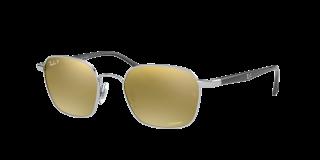 Óculos de sol Ray Ban 0RB3664CH Prateados Quadrada
