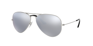 Óculos de sol Ray Ban 0RB3025 AVIATOR LARGE METAL Prateados Aviador