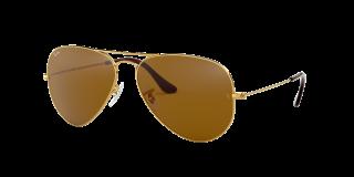 Óculos de sol Ray Ban 0RB3025 AVIATOR LARGE METAL Cinzento Aviador