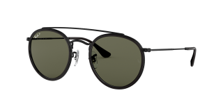 Óculos de sol Ray Ban 0RB3647N Preto Redonda