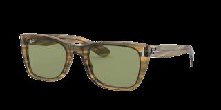 Óculos de sol Ray Ban 0RB2248 CARIBBEAN Verde Retangular