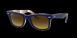 Óculos de sol Ray Ban 0RB2140 WAYFARER Azul Quadrada