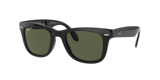Óculos de sol Ray Ban 0RB4105 FOLDING WAYFARER Preto Quadrada