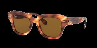 Óculos de sol Ray Ban 0RB2186 Castanho Quadrada