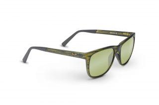 Óculos de sol Maui Jim HT740 TAIL SLIDE Cinzento Retangular