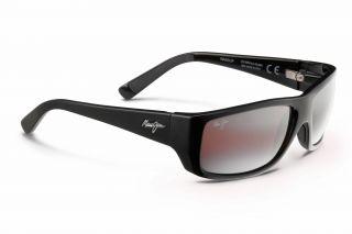 Óculos de sol Maui Jim R123 WASSUP Preto Retangular