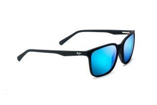 Óculos de sol Maui Jim B756 WILD COAST Preto Retangular