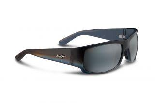 Óculos de sol Maui Jim 266 WORLD CUP Preto Retangular
