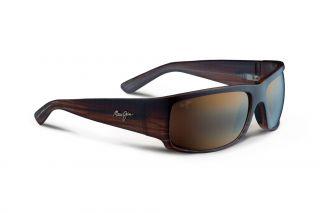 Óculos de sol Maui Jim H266 WORLD CUP Castanho Retangular