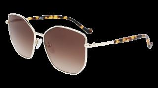 Óculos de sol Liu Jo LJ144S Dourados Retangular