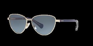 Óculos de sol Ralph Lauren 0RA4134 Dourados Borboleta
