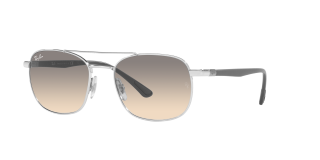 Óculos de sol Ray Ban 0RB3670 Prateados Quadrada