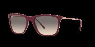 Óculos de sol Ray Ban 0RB4344 Vermelho Retangular