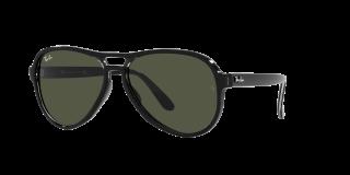 Óculos de sol Ray Ban 0RB4355 VAGABOND Preto Aviador