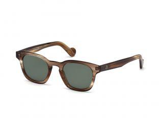 Óculos de sol Moncler ML0072 Castanho Quadrada