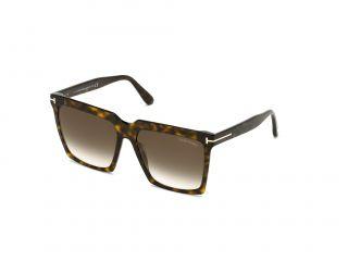 Óculos de sol Tom Ford FT0764 SABRINA-02 Castanho Quadrada