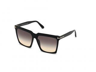 Óculos de sol Tom Ford FT0764 SABRINA-02 Preto Quadrada