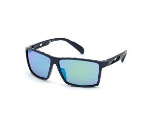 Óculos de sol Adidas SP0010 Azul Retangular
