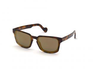 Óculos de sol Moncler ML0171 Castanho Retangular