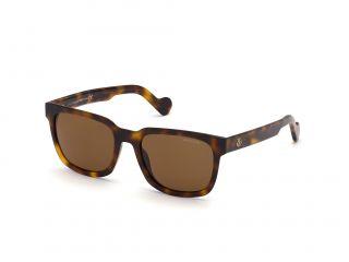 Óculos de sol Moncler ML0174 Castanho Retangular