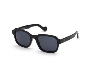 Óculos de sol Moncler ML0176 Preto Retangular