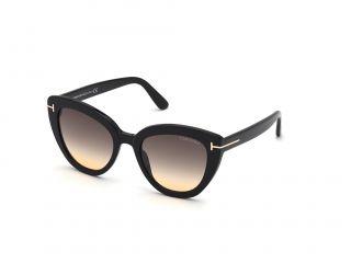 Óculos de sol Tom Ford FT0845 IZZI Preto Borboleta