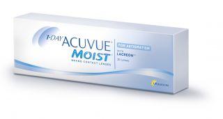 Lentes de contacto Acuvue 1 Day Acuvue Moist Astigmatismo 30 unidades