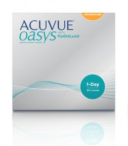 Lentes de contacto Acuvue Acuvue Oasys 1-Day with HydraLuxe for Astigmatism