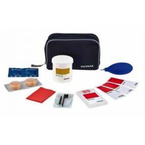 Complementos auditivos Phonak Kit de limpeza/manutenção ITE/BTE com saco