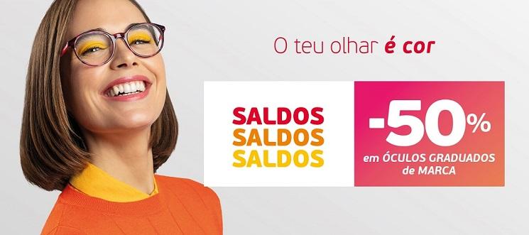 -50% em óculos de marca