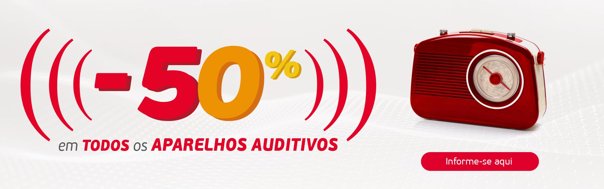 50 aparelhos auditivos